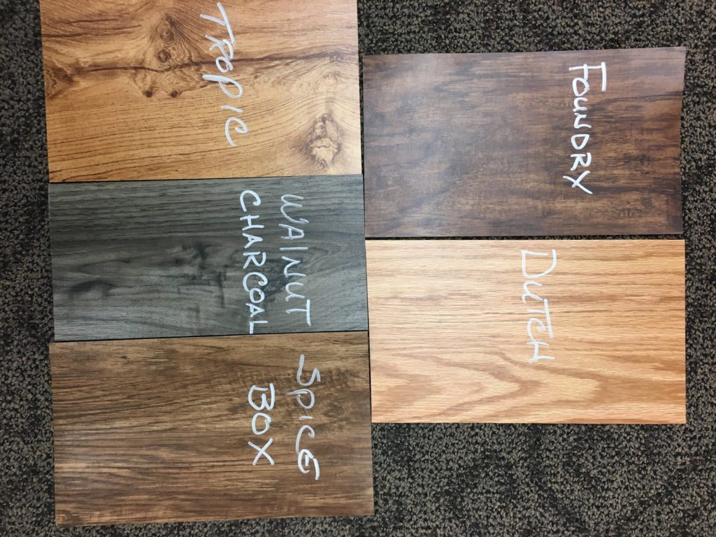 Wood Vinyl Planking Options